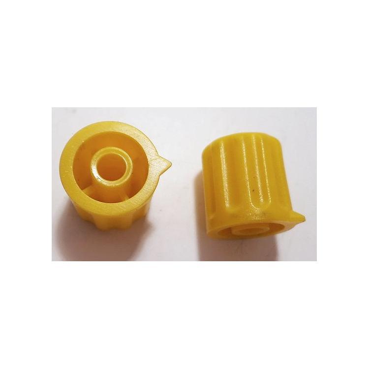 Knoflík 4mm KP1404 žlutý