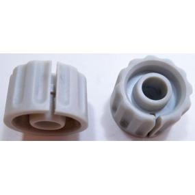 Knoflík 6mm KPP16 světlešedý