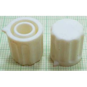 Knoflík 6mm KP1406 bílý