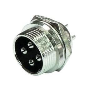 Konektor mikrofonní M 4P na panel