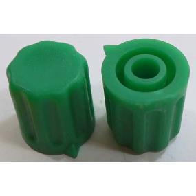 Knoflík 4mm KP1204 zelený