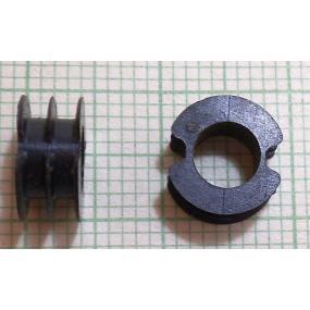 Kostřička do hrníčku P11x7 2-komorová plast