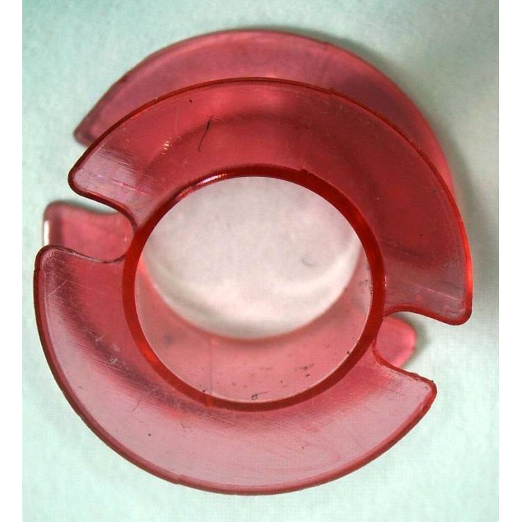 Kostřičk do hrníčku P18x11 růžový plast