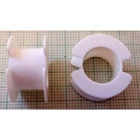 Kostřička do hrníčku P26x16 plast (bílá)