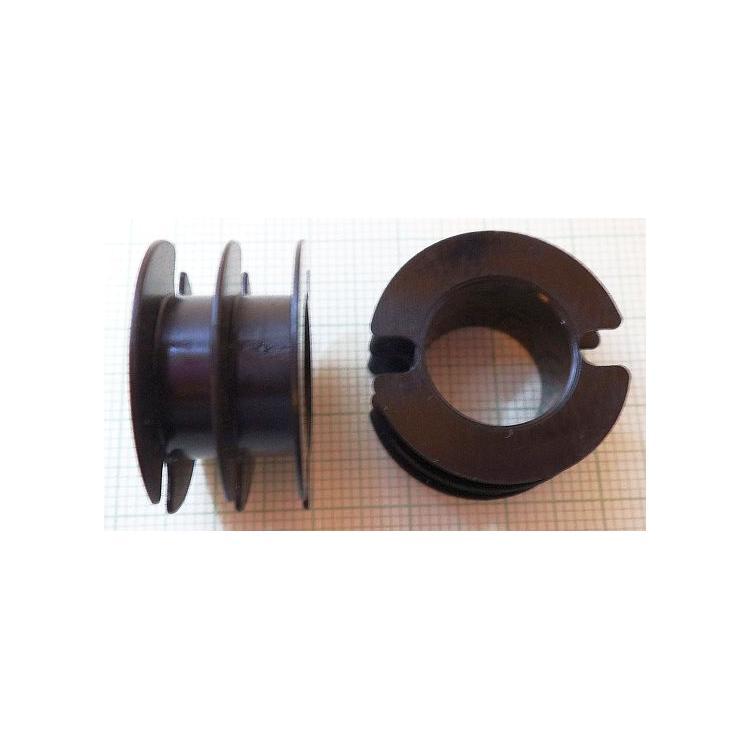 Kostřička do hrníčku P30x19 2-komorová plast
