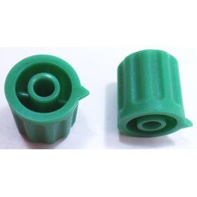 Knoflík 4mm KP1404 zelený