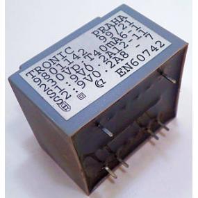 Transformátor do DPS 230/2x9V 0,2A