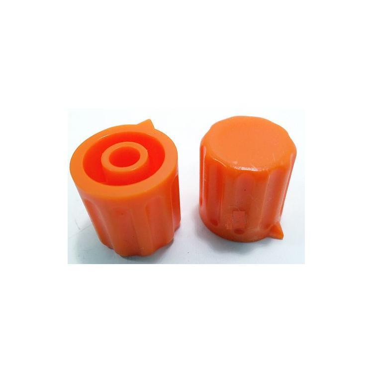 Knoflík 4mm KP1404 oranžový