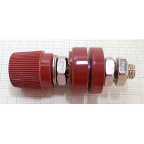 Svorka šroubovací červená M6