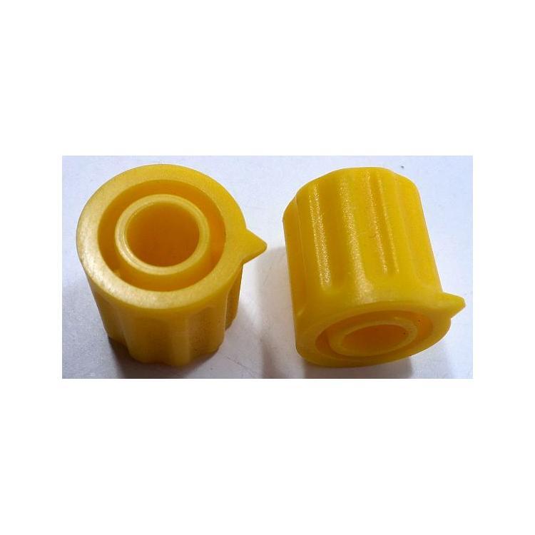 Knoflík 6mm KP1406 žlutý