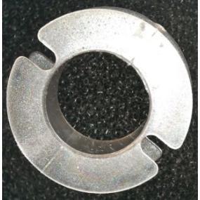 Kostřička do hrníčku P26x16 průhledná Makrolon