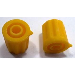 Knoflík 4mm KP1204 žlutý