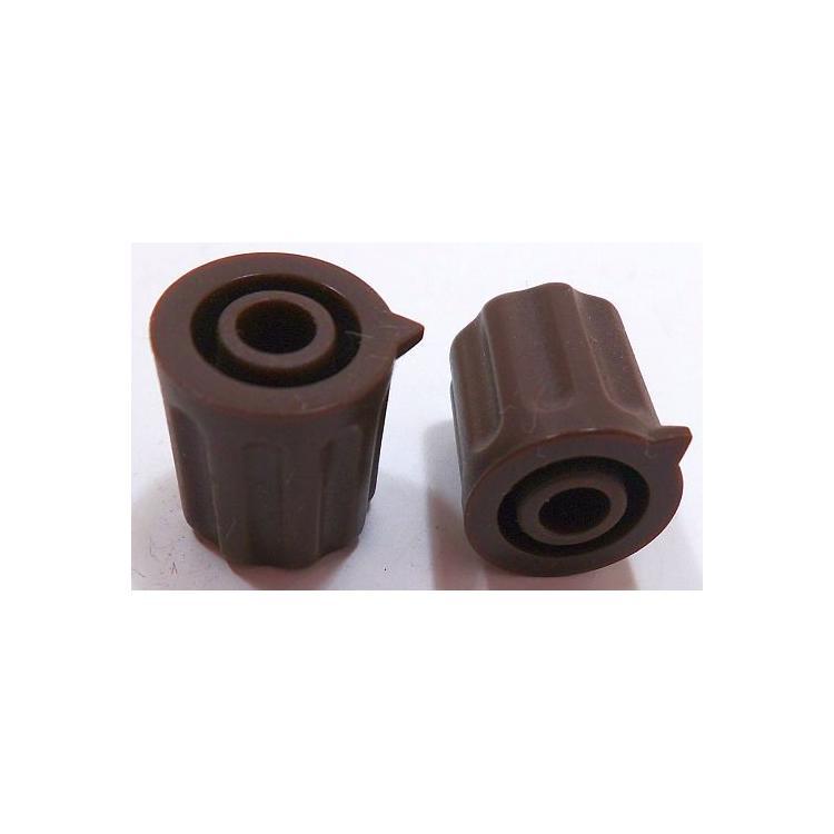 Knoflík 4mm KP1204 hnědý