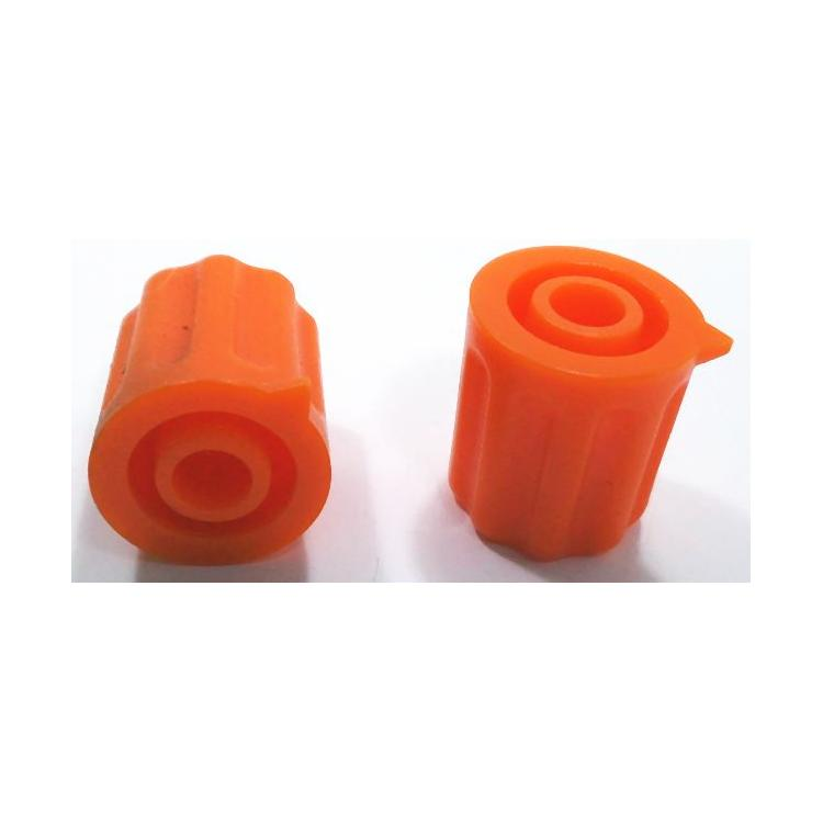 Knoflík 4mm KP1204 oranžový