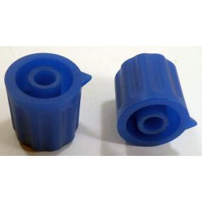 Knoflík 4mm KP1404 tm.modrý