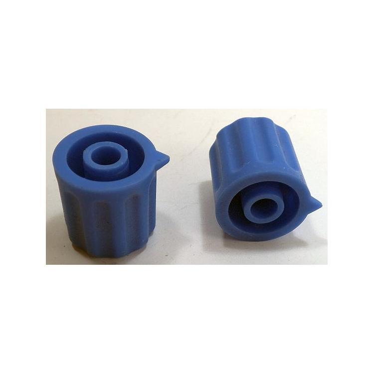 Knoflík 4mm KP1404 sv.modrý