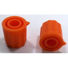 Knoflík 6mm KP1406 oranžový