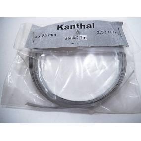 Odporový drát Kanthal 2.33Ohm/m 3x0,2mm