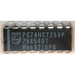 74HCT259