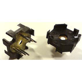 Patice s vývody pod P14x8 6 pin (černá,bílá)