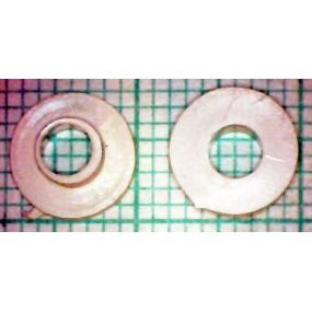 Průchodka pro tranzistory TO3 bílá