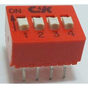 Přepínač DIP 4