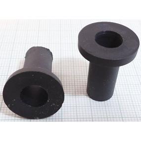 Průchodka M12 plast černá