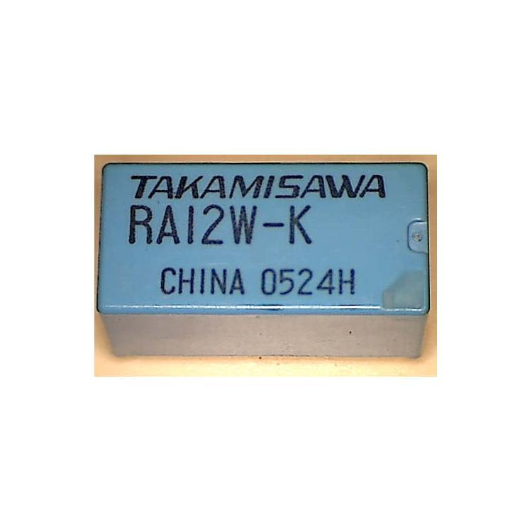 Relé Takamisawa 12V RY12W-K
