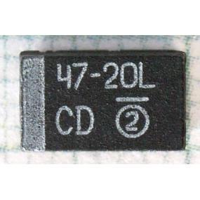 CTS 47µ/20V
