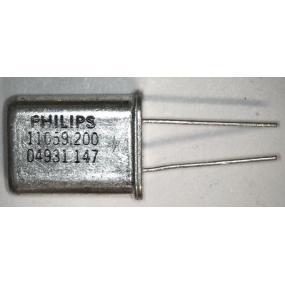 Krystal 11059,200 kHz