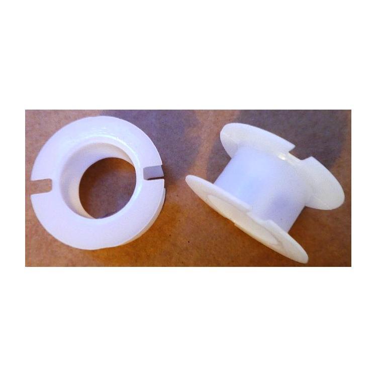 Kostřička do hrníčku P36x22 plastová (bílá)