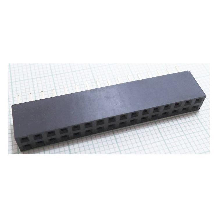Dutinková lišta 2x16 PBD32S