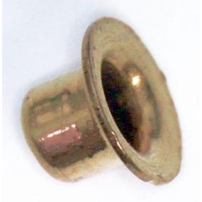 Nýt dutý mosazný 12x4mm