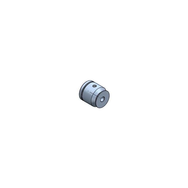 Řemenice 17/12/4mm Al
