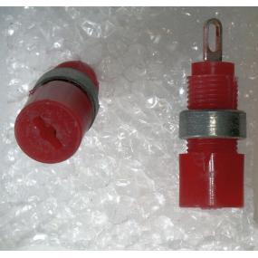 Minizásuvka 6AF28031tmavě červená