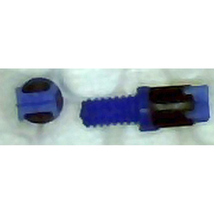 Ladicí šroub M1,4 s jádrem pr. 1,8x2.0mm modrý
