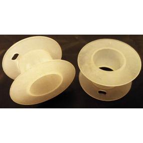 Kostřička na X35 plastová bílá
