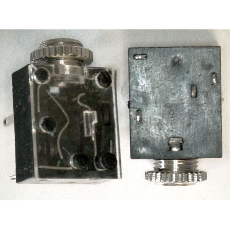 Jack 3,5 stereo zásuvka print s vypínačem