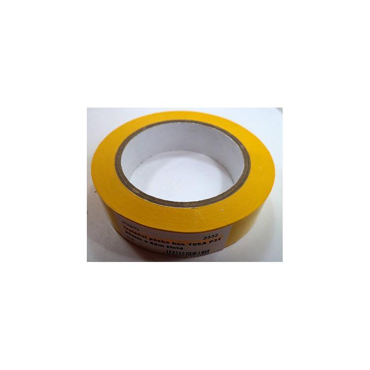 Izolační páska ban TESA P31 25mm x 66m žlutá