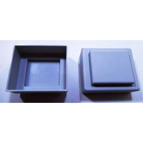 Krabička na EI30/5 šedá